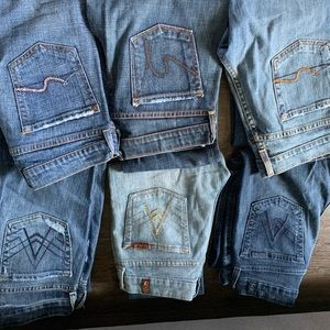 Seven of all man kind jeans
